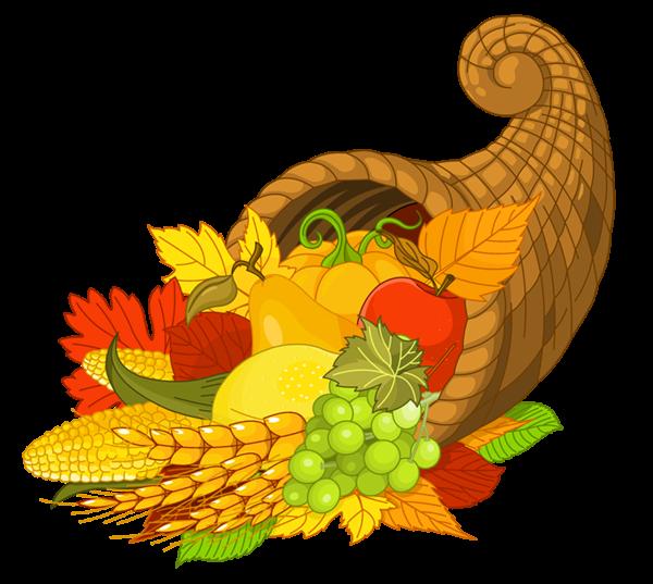 600x537 Thanksgiving Cornucopia