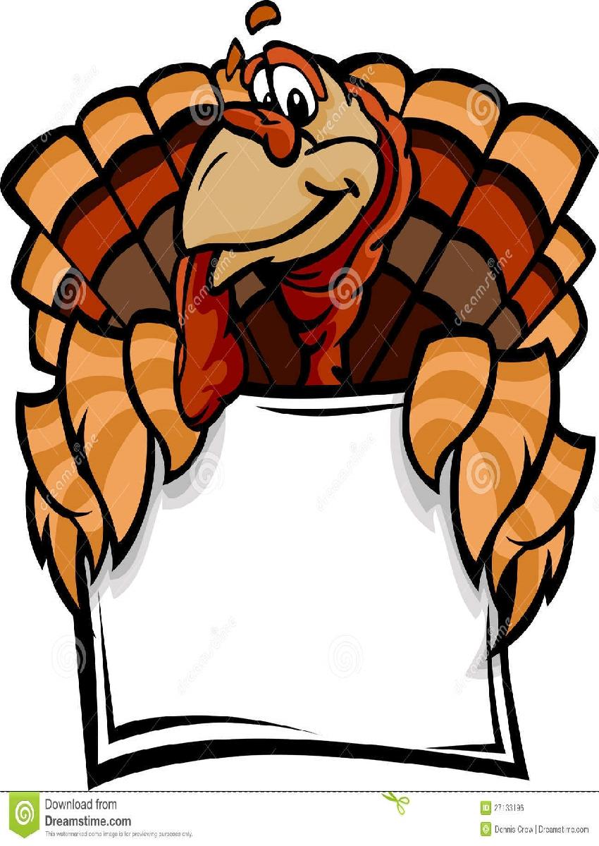 850x1200 Thanksgiving Turkey Clip Art