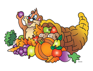 365x282 Chipmunk With Cornucopia Printable Clip Art And Images