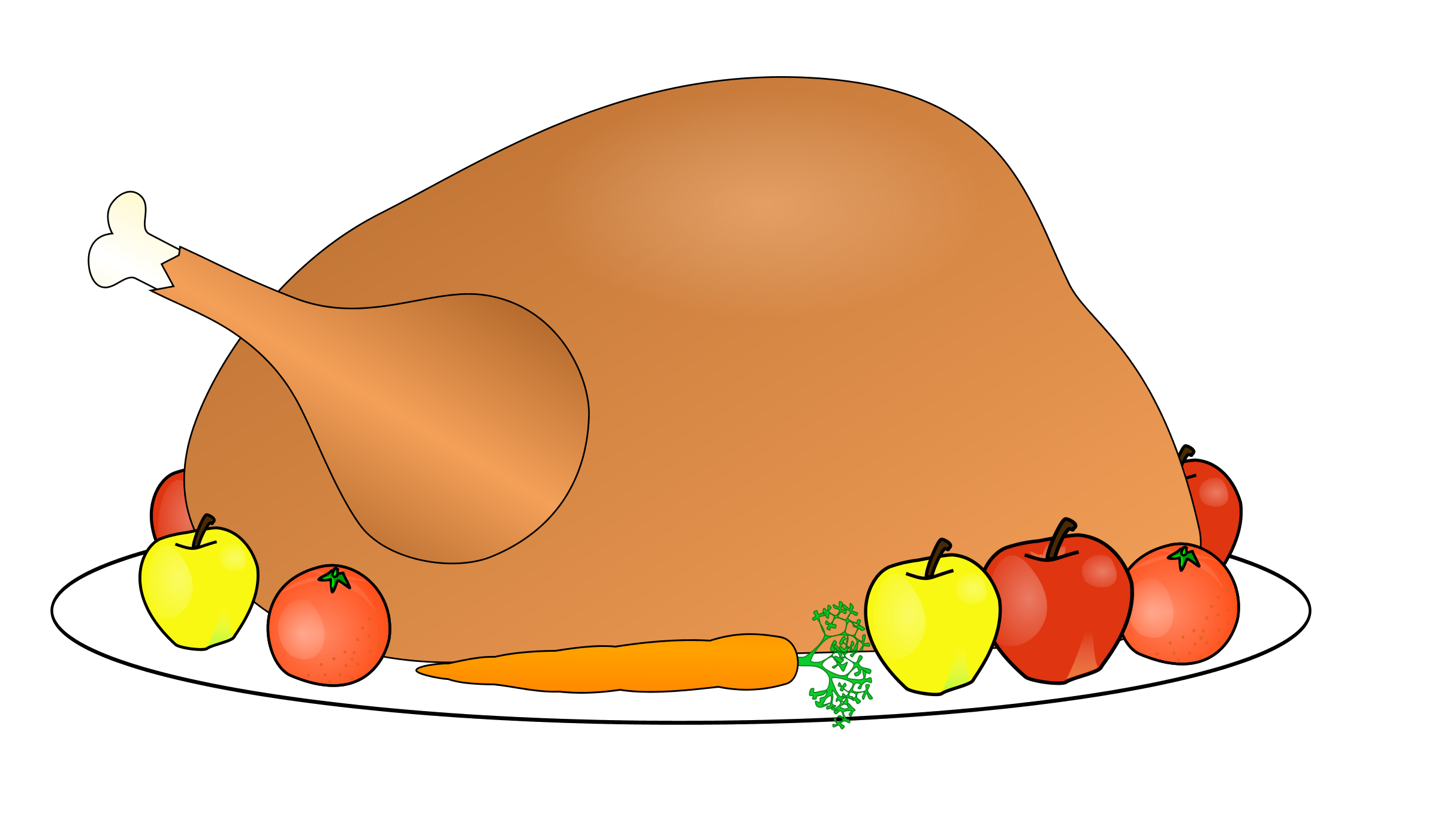 2429x1401 Collection Of Thanksgiving Meal Clipart Free High Quality