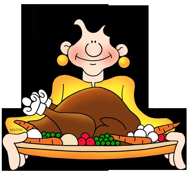 648x582 Thanksgiving Clip Art By Phillip Martin, Thanksgiving Feast