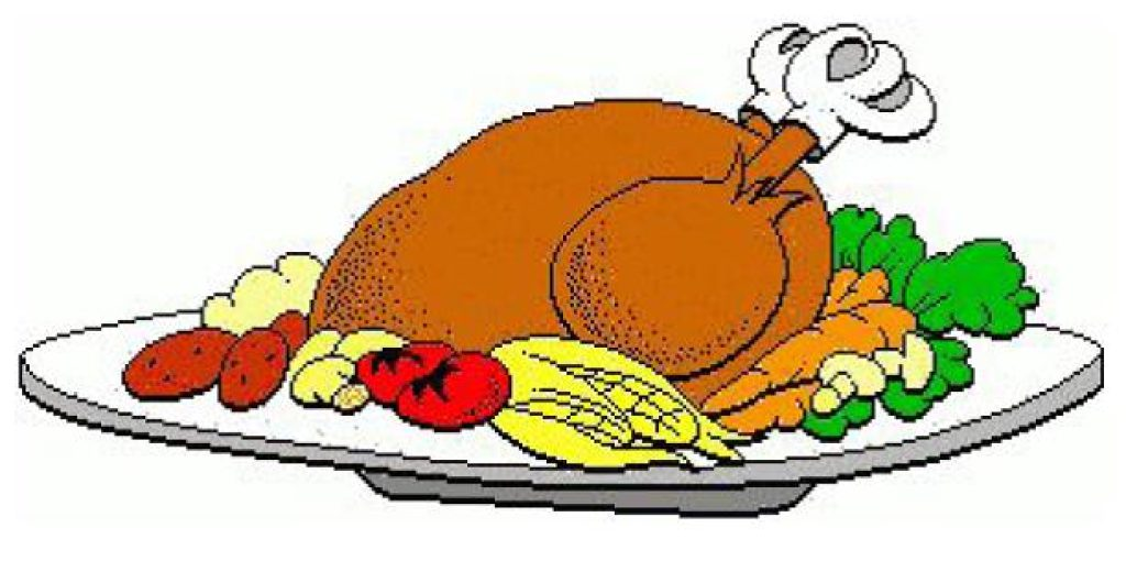 1024x530 Thanksgiving Dinner Feast Clipart Collection