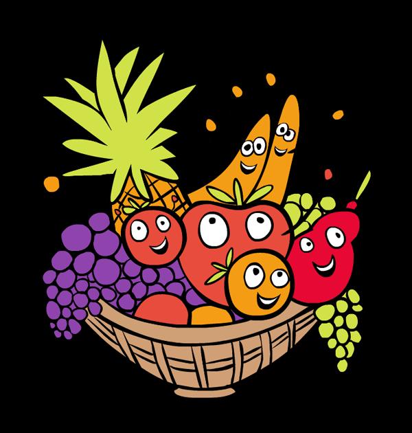 600x630 Clip Art Food Basket Thanksgiving Food Baskets Clipart