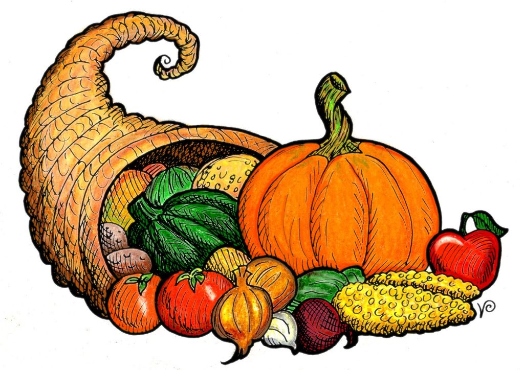 1024x724 Thanksgiving Food Clipart