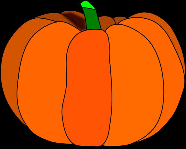 619x496 Pumpkin Clip Art