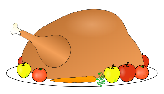 525x302 Collection Of Free Thanksgiving Dinner Clipart High Quality
