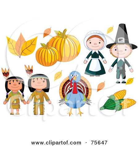 450x470 Clipart Dancing Thanksgiving Native American Girl And Boy