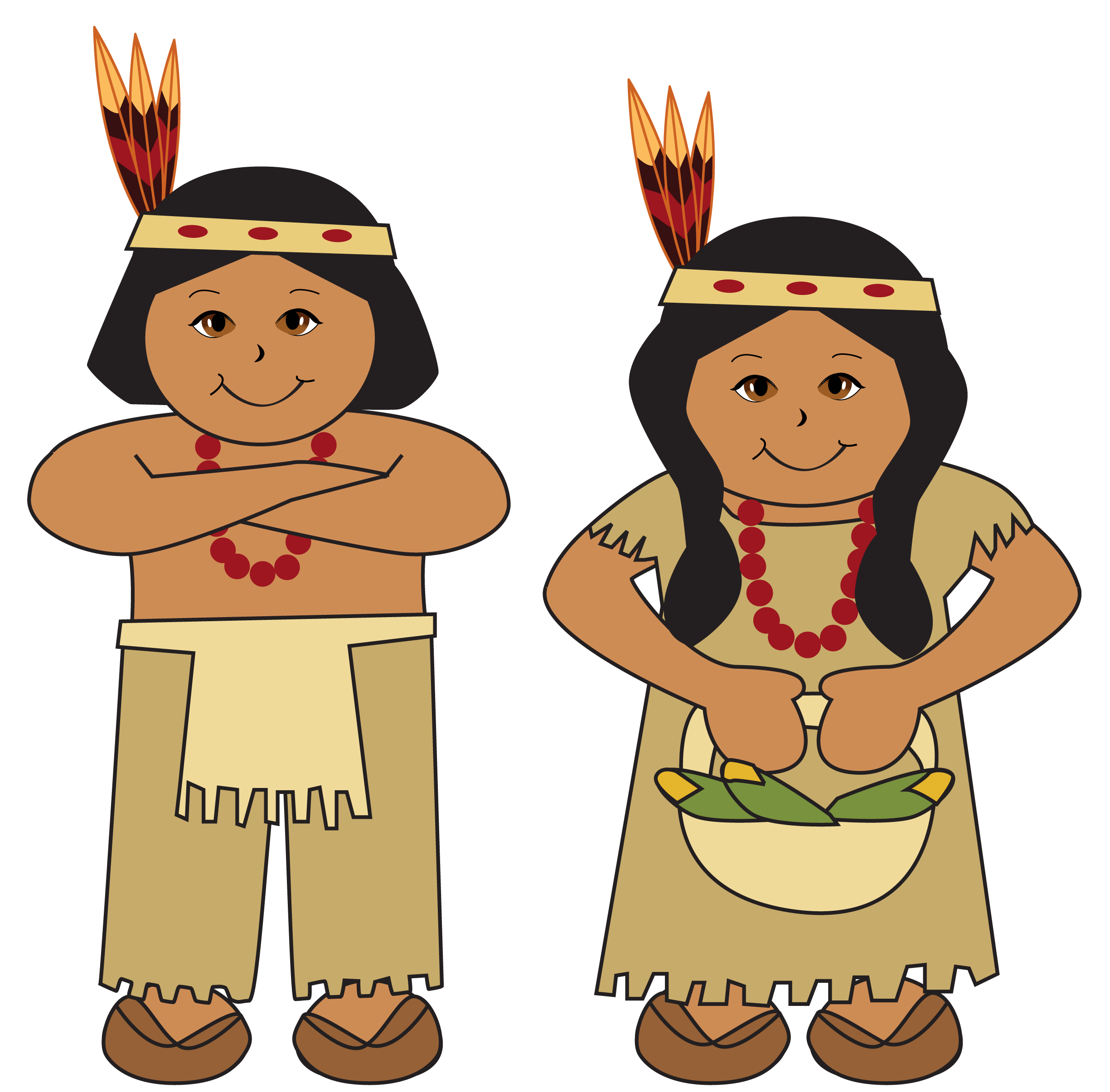 2449x2410 Indian Thanksgiving Cliparts Free Download Clip Art