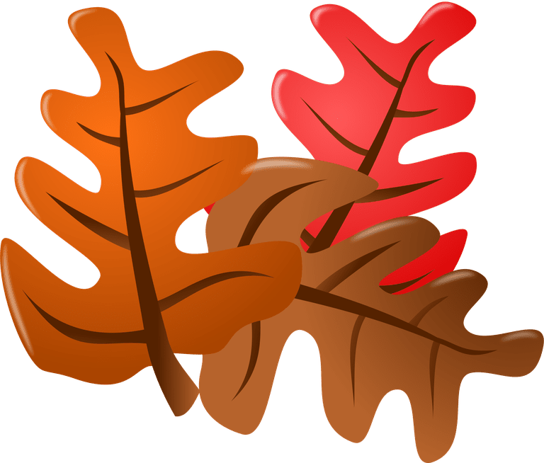 Thanksgiving Leaves Clipart