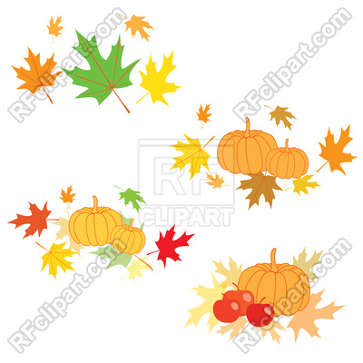 400x400 Design Elements For Thanksgiving Day