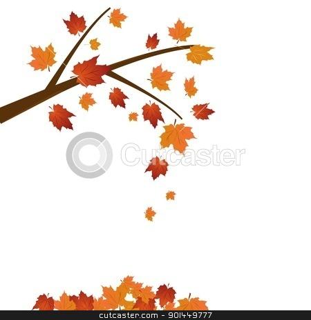 450x464 Fall Tree Branch Clipart