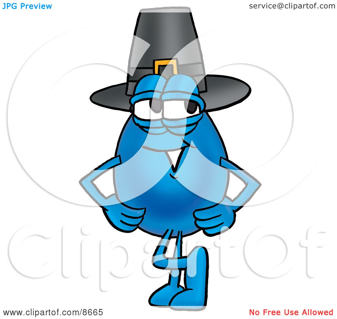 1080x1024 Clipart Picture Of Water Drop Mascot Cartoon Character Wearing