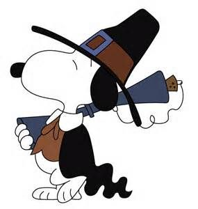 285x300 Happy Thanksgiving Free Pilgrim Snoopy Vector Tuts King Stencils
