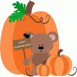 Thanksgiving Pumpkin Clipart
