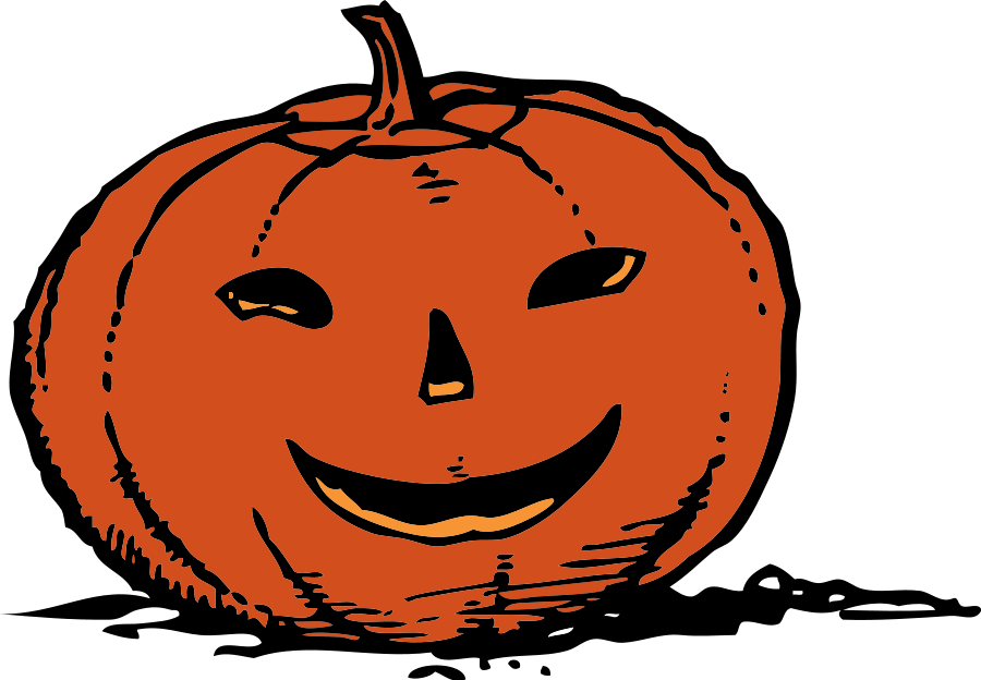 900x624 Thanksgiving Pumpkin Clipart Image 4