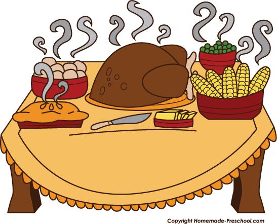 547x442 Preschool Thanksgiving Cliparts