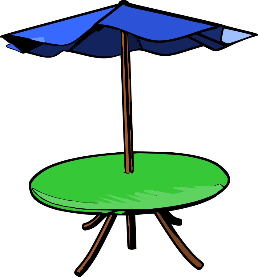 838x900 Table Clipart Tabel