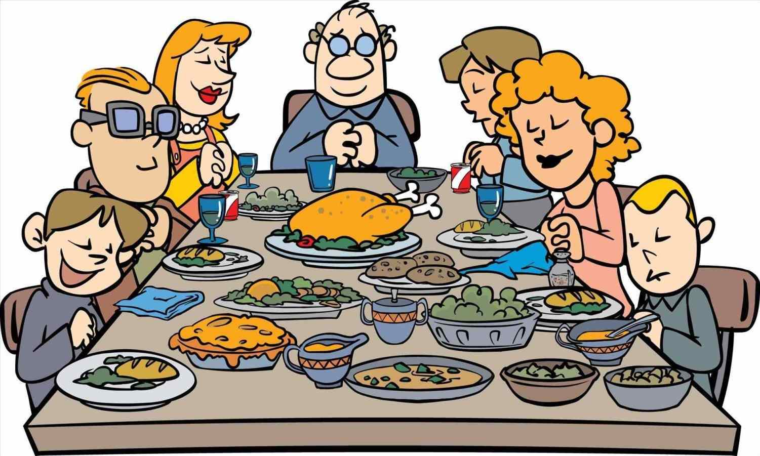1501x901 Thanksgiving Dinner Table Clipart Black And White Tristano.win