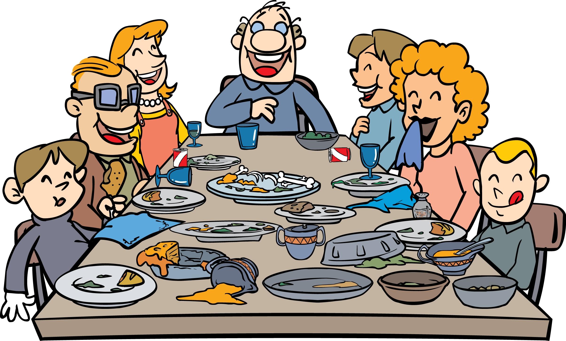 2409x1453 Clip Art Thanksgiving Dinner Clip Art