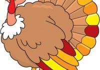 200x140 Turkey Clipart Image Give Thanks Turkey Thanksgiving Clip Art