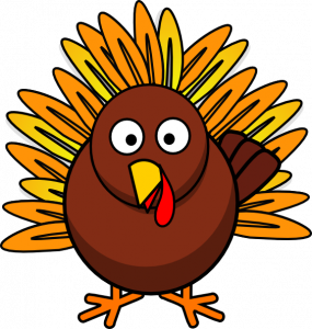 285x300 Free Clipart Of A Thanksgiving Turkey