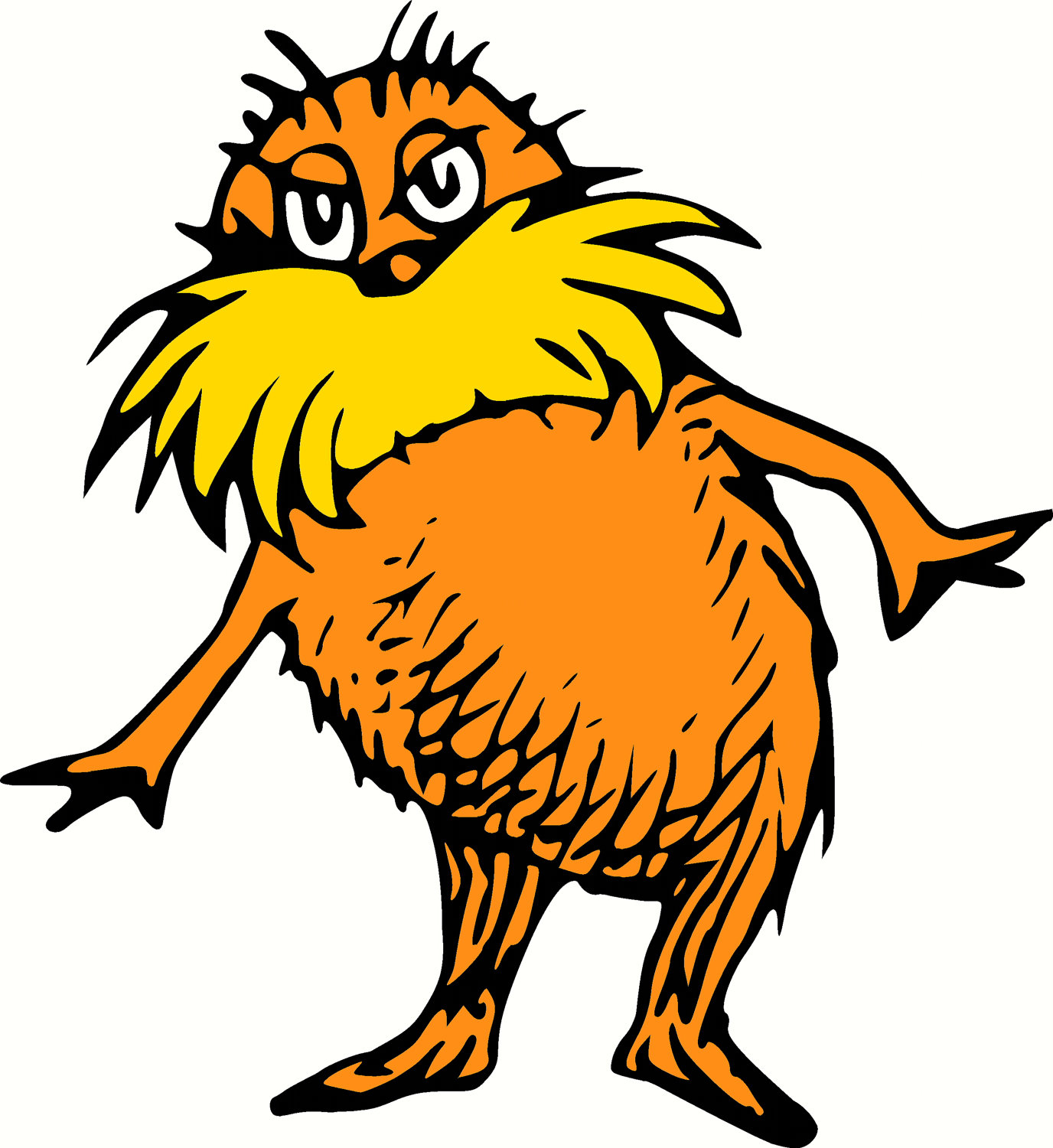 1376x1500 Dr Seuss And Lorax Images On Seuss Week Clip Art