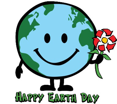 382x341 Earth Clipart Happy Earth Day Smiling Earth Clipart Music Clipart