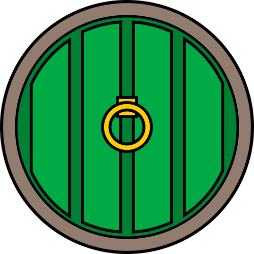 500x500 Hobbits' Door Public Domain Vectors