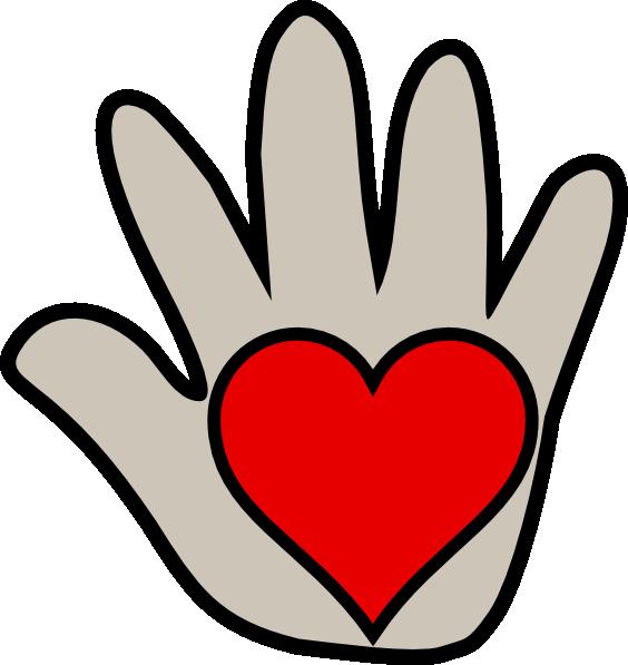 564x597 Kissing Hand 2 Clip Art