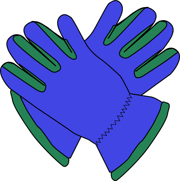 600x604 Latex Gloves Clipart