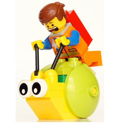 400x400 How To Draw Emmet And The Giant Snail From The Lego Movie In Easy