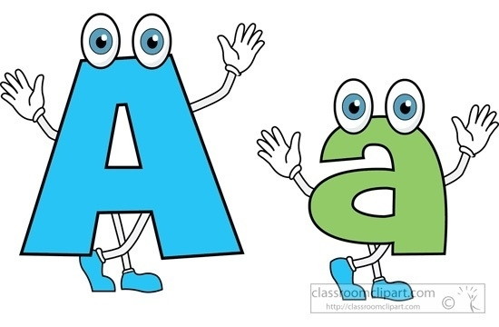 550x360 Lowercase Letter A Clipart