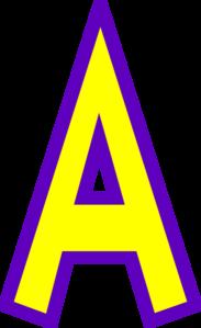 183x299 Stunning Ideas Letter A Clipart Alphabet Clip Art At Clker Com