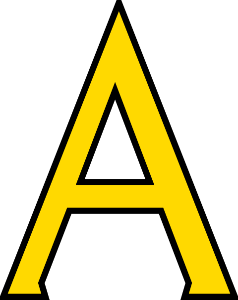 480x604 A Letter A Clip Art Yu Clip Art