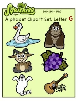 The Letter G Clipart