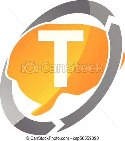 416x470 Creative Thinking Letter T Eps Vectors