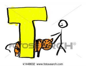 300x231 Letter T Clipart Clip Art Of Letter T K1448632 Search Clipart