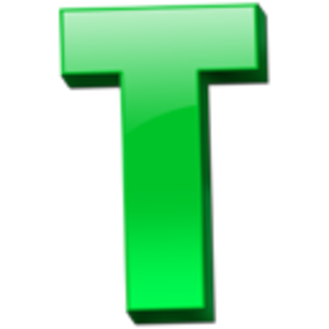 300x300 Letter T Icon 1 Free Images