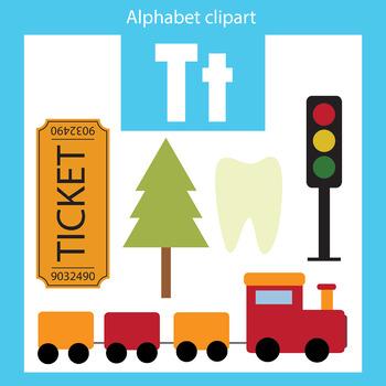350x350 Alphabet Clip Art Letter T Beginning Sounds By Thinkingcaterpillars