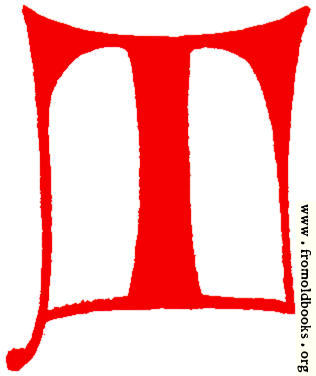 316x376 Clip Art Calligraphic Decorative Initial Capital Letter T