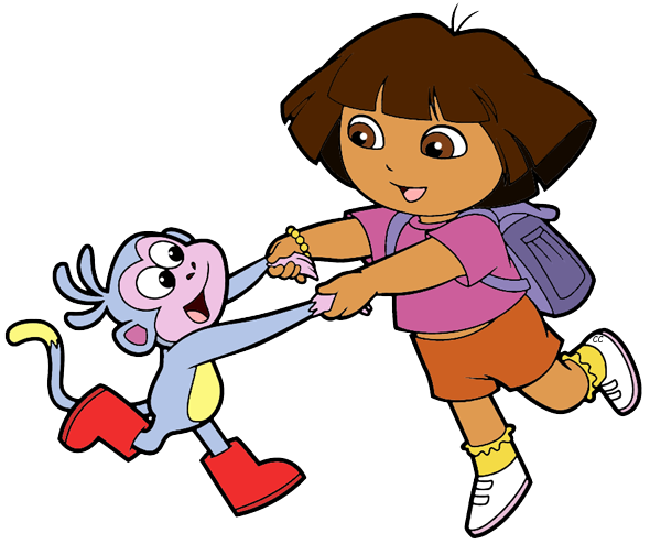 590x494 Dora The Explorer Clip Art Cartoon Clip Art