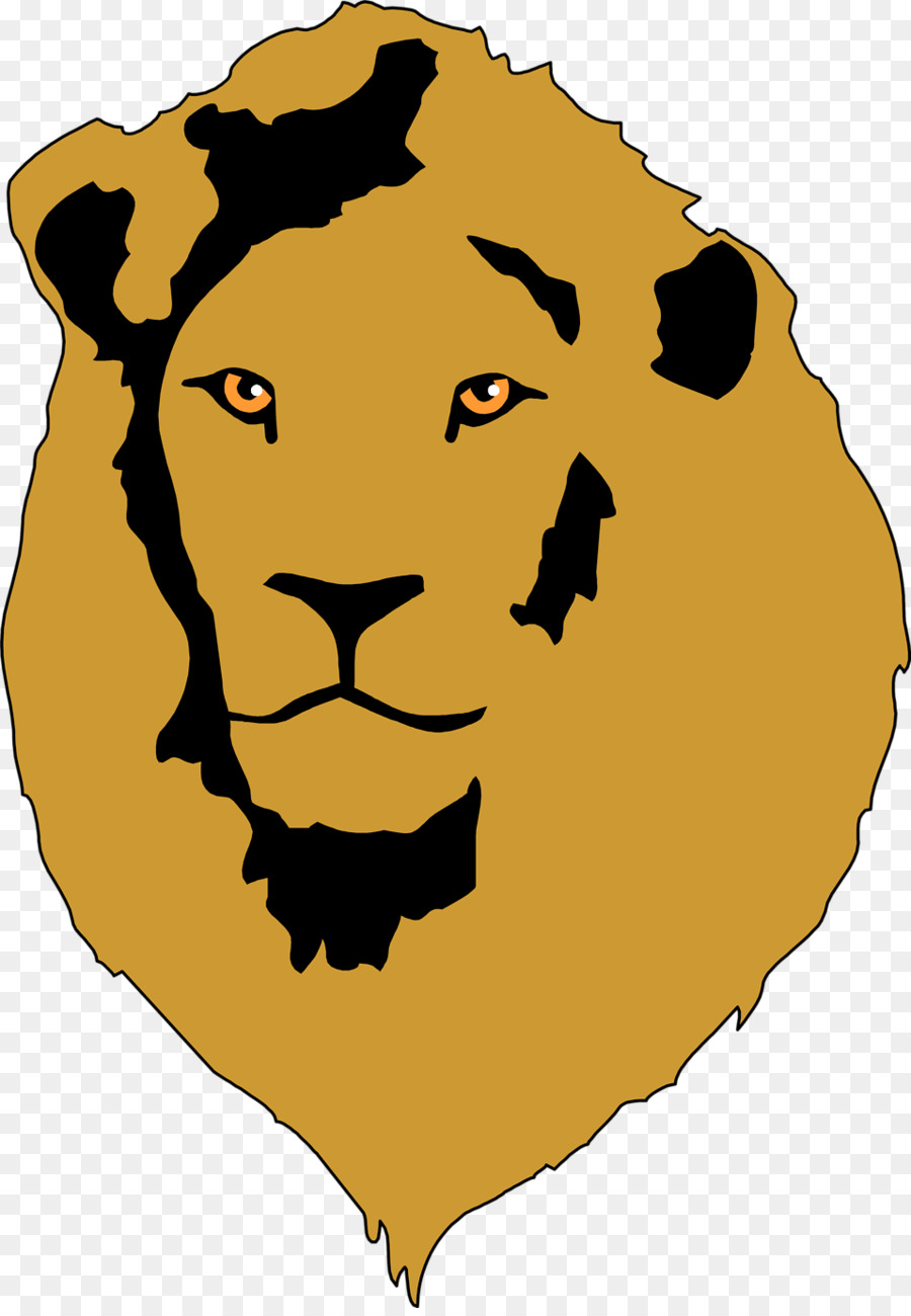 900x1300 Lion Hunting African Bush Elephant Trophy Hunting Clip Art