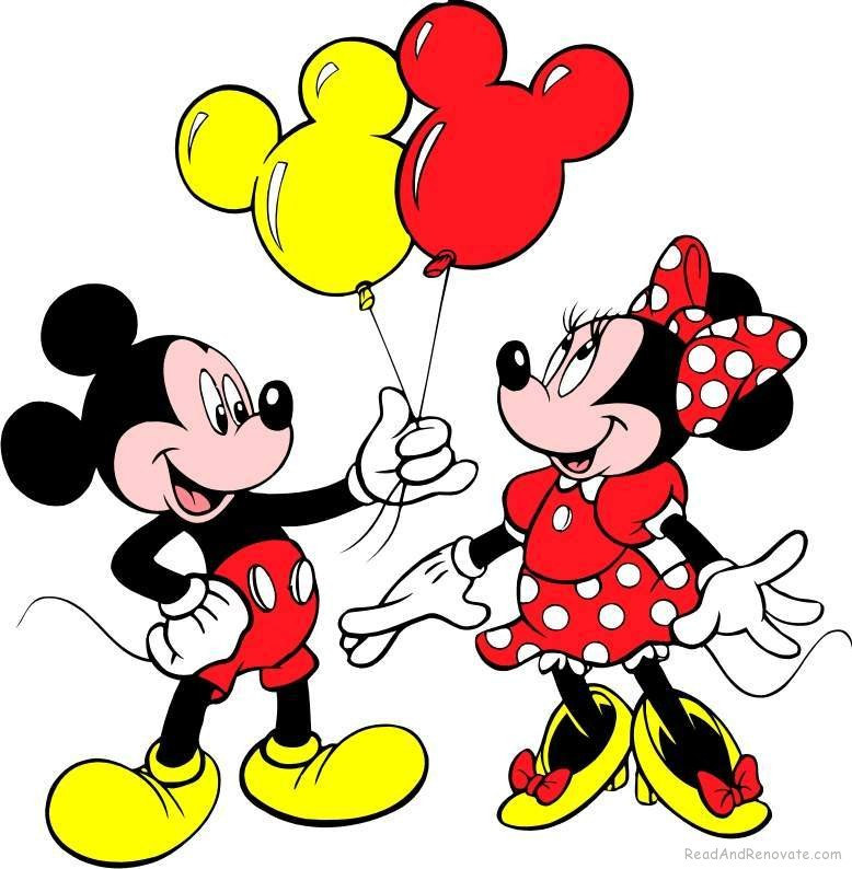 778x794 Mickey And Minnie Ears Clipart
