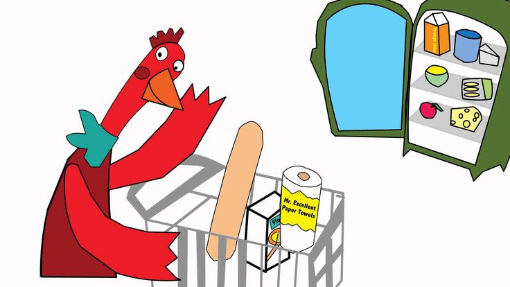 The Little Red Hen Clipart