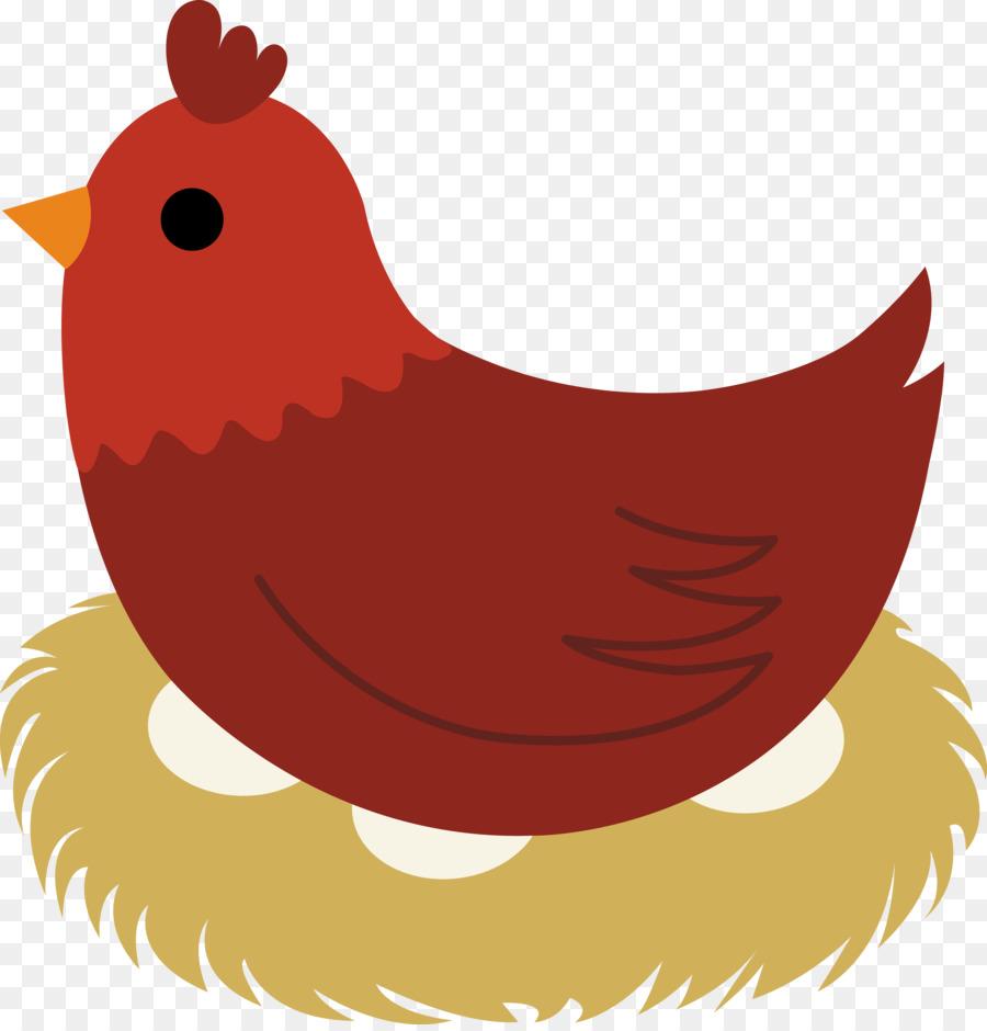 900x940 Delaware Chicken The Little Red Hen Egg Clip Art