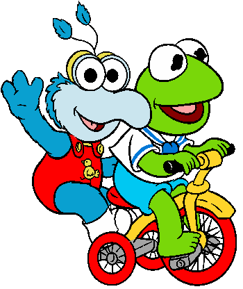 350x416 Muppet Babies Cartoon Characters Clipart