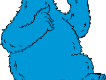 220x165 Cookie Monster Clip Art Cookie Monster Is A Muppet On The Long