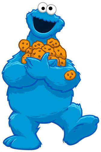 336x505 Cookie Monster Clip Art