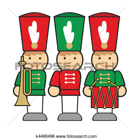 450x470 Christmas Toy Soldier Clip Art