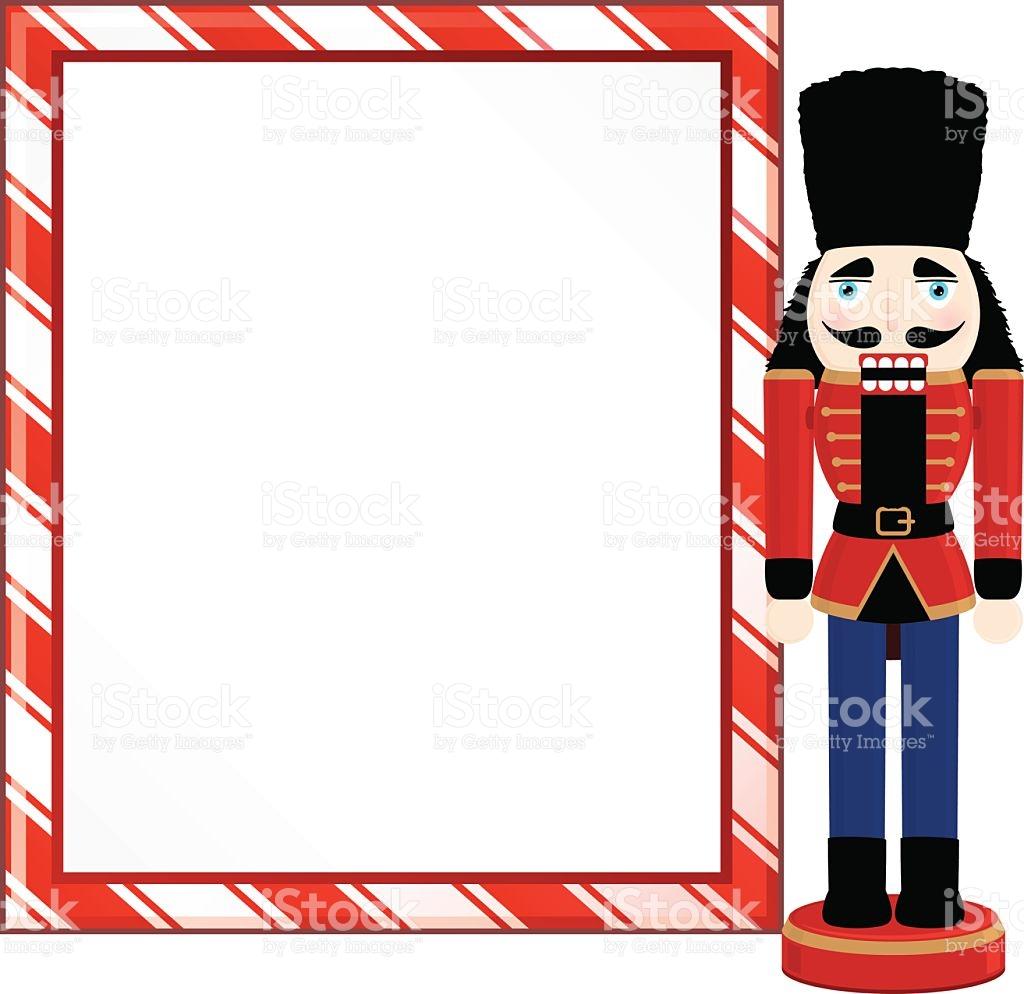 1024x994 Christmas Nutcracker Clip Art Border